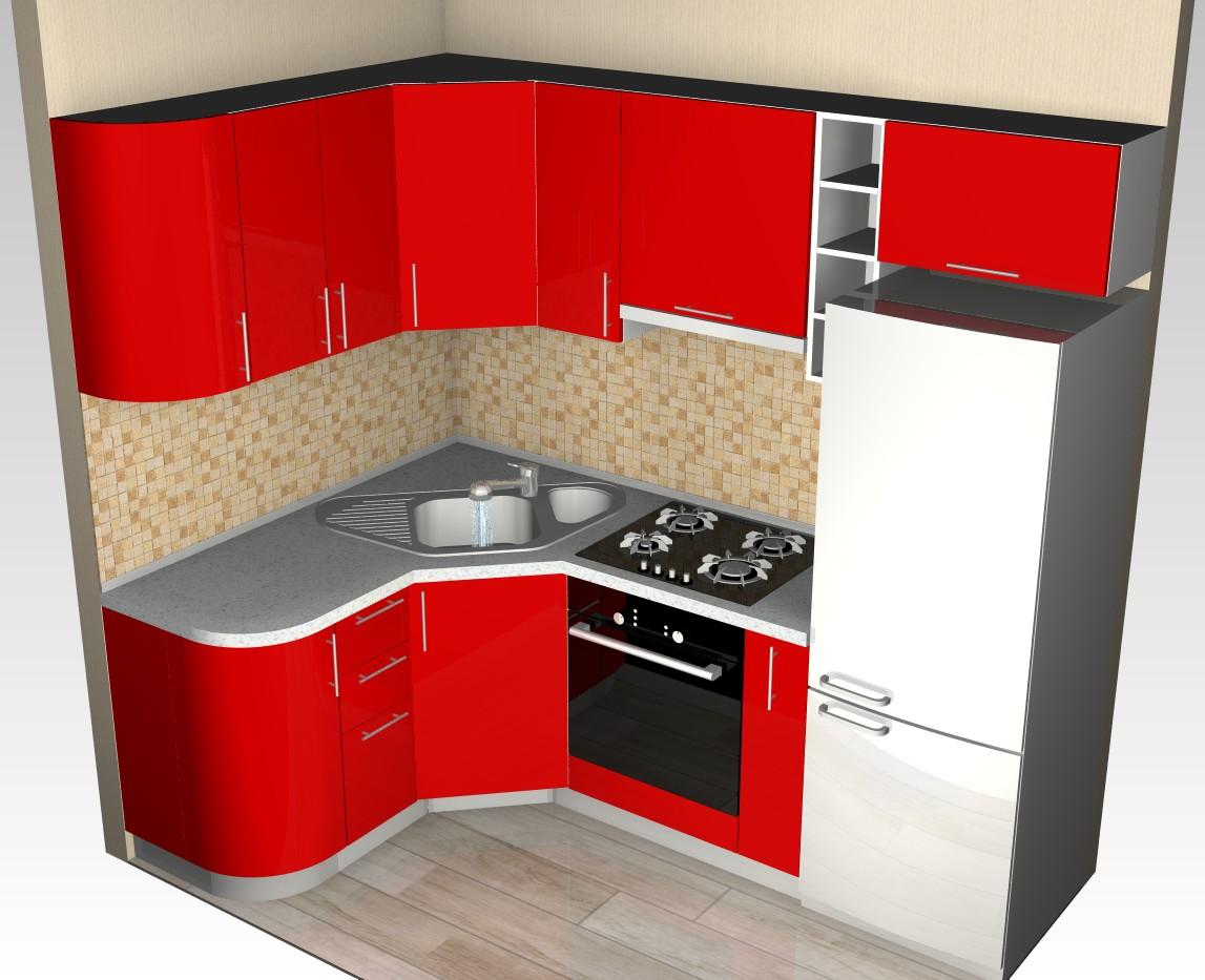 Идеи кухонного гарнитура для маленькой кухни фото