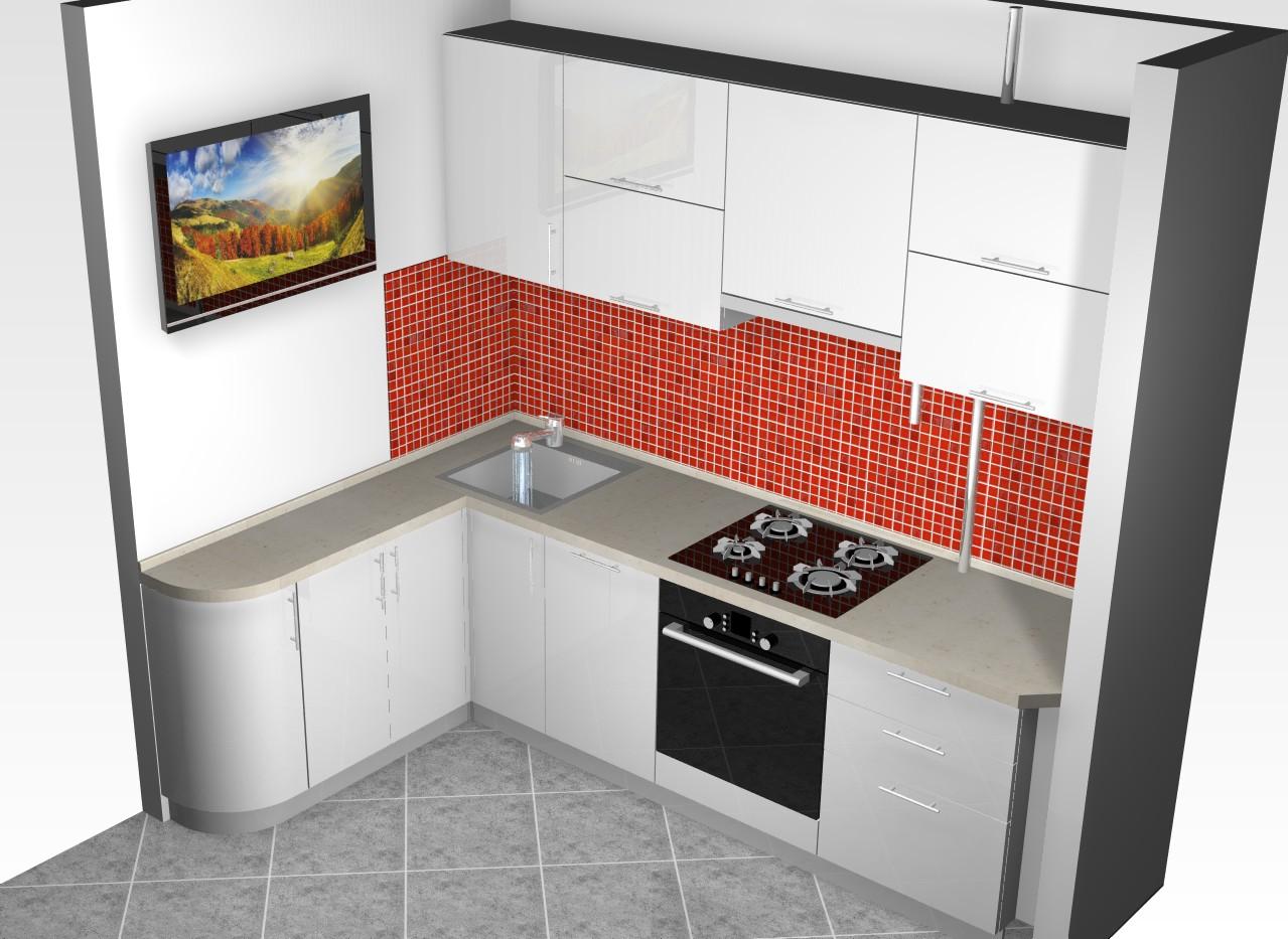 фото различные модели угловых кухонь летом совпадает московским